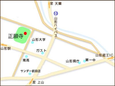 正願寺地図